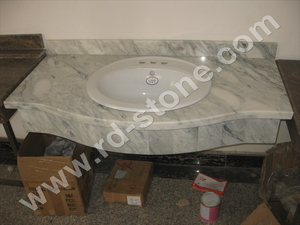 ARISTON WHITE--- VANITY TOP